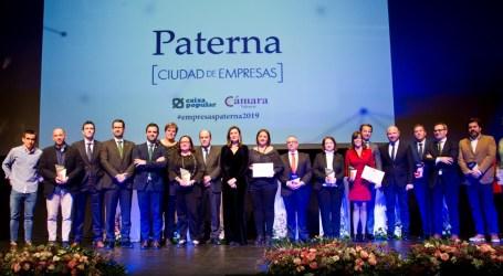 El mundo empresarial se da cita en los Premios Paterna Ciudad de Empresas
