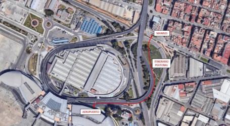Manises contará con un acceso peatonal que comunicará la zona industrial y el casco urbano con el aeropuerto