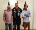 Sagredo recibe al paternero Titen Olmos, tercer puesto en el Campeonato de España de Rallyes