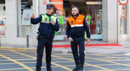 La Policía Local de Mislata forma a los voluntarios de Protección Civil en regulación del tráfico