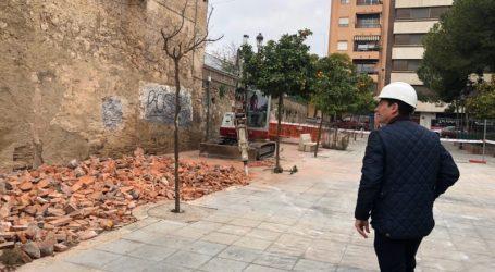 Burjassot inicia la ampliación de la obra de emergencia del muro de los Silos