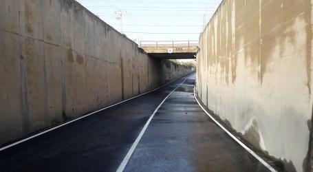 Catarroja culmina la renovació dels seus accesos amb la reforma del túnel de Pelayo
