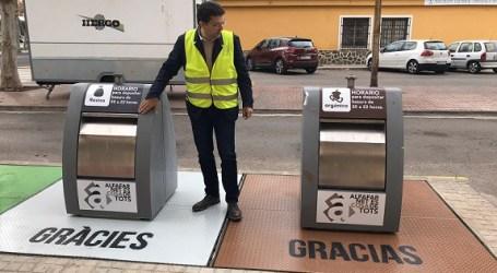 Alfafar mejora el servicio de recogida de basura