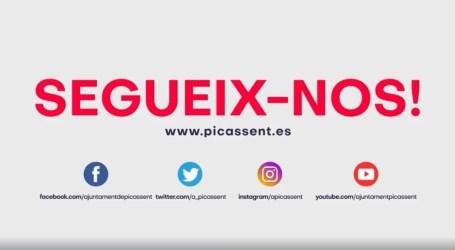 L'Ajuntament de Picassent obri nous canals d'Instagram i Twitter
