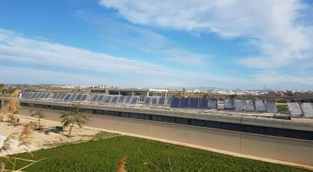 Manises implanta noves plaques solars al recinte de la Ciutat de l'Oci i l'Esport