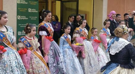 La Junta Local Fallera de Paiporta regala un pasdoble a les seues falleres majors de tots els temps