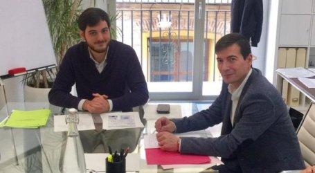 Rafa García se reúne con el director general del EVha para analizar las necesidades de vivienda en el municipio