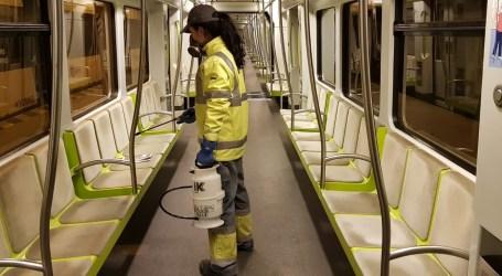 La Generalitat refuerza los protocolos de limpieza en Metrovalencia y autobuses