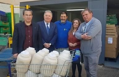 La Horchatada Fallera se dona a la Casa de la Caridad de València