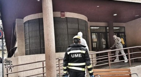 La Unidad Militar de Emergencias llega a Paterna y Torrent