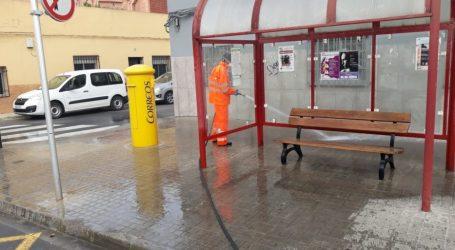 El Ayuntamiento de Quart de Poblet establece medidas de limpieza especiales para combatir el Coronavirus