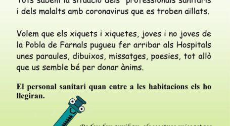 La Pobla de Farnals participa en la campanya 'Paraules que curen'