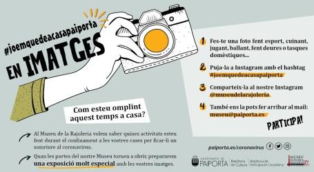 El Museu de la Rajoleria combat el coronavirus amb la iniciativa #joemquedeacasapaiporta en imatges