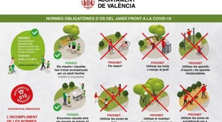 Policía Local vigilará que se cumplan las normas en los parques y jardines de Valencia