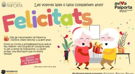 Un conte per felicitar l'aniversari a la gent gran de Paiporta