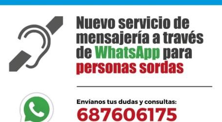 Quart de Poblet pone en marcha un servicio de mensajería via WhatsApp para personas sordas