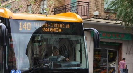 Las 3 líneas de autobús municipal de Paterna reducen alrededor de un 50% su frecuencia