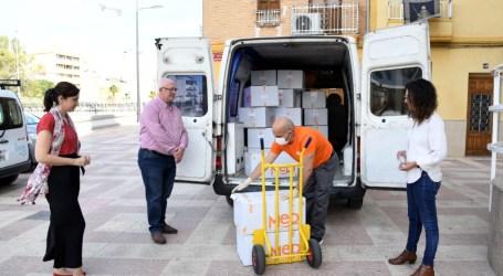 Comença el repartiment de 26.000 mascaretes gratuïtes als domicilis de Paiporta