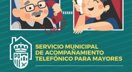 Quart de Poblet pone en marcha el Servicio de Acompañamiento telefónico para Personas Mayores