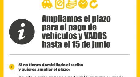 Quart de Poblet amplía el plazo para el pago de vehículos y VADOS hasta el 15 de junio