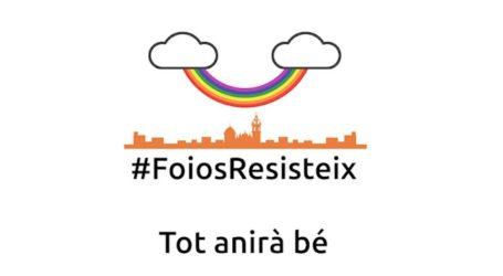 #FoiosResisteix, la campanya de vídeo-ànims per a superar el confinament