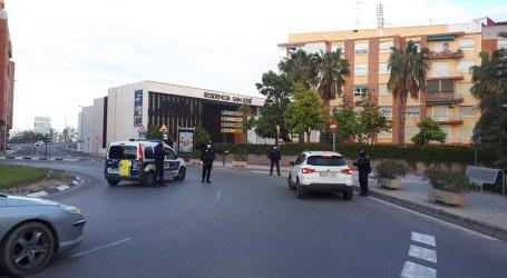 La Policía Local y la Policía Nacional intensifican los controles de acceso y salida a Burjassot para evitar desplazamientos innecesarios