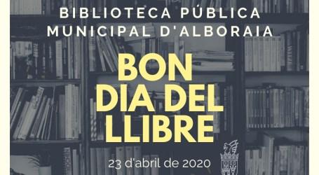 Alboraya celebra el día del libro animando a sus vecinos a enseñar el que están leyendo
