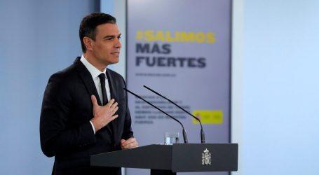 Sánchez confirma que pedirá la «última y definitiva» prórroga de la alarma