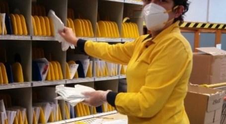 Correos reparte 13.500 envíos con mascarillas en Catarroja