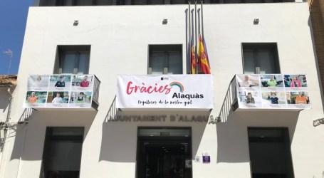 """""""Gracias Alaquàs"""", campaña del Ayuntamiento para agradecer públicamente el esfuerzo de los trabajadores durante el estado de alarma"""
