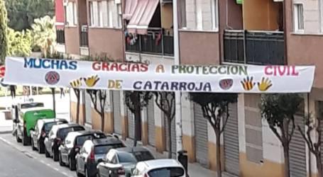 Protecció Civil de Catarroja ha fet felices a més de 200 families durant la quarantena
