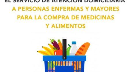 Benetússer extiende el servicio de atención domiciliaria a personas enfermas y mayores para la compra de medicinas y alimentos