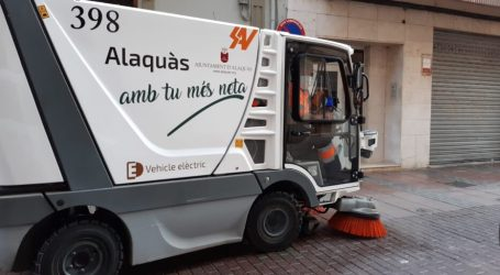 L'ajuntament d'Alaquàs reforça les tasques de neteja i desinfecció