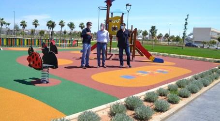 Conclouen les obres del nou parc Benamà a Albal