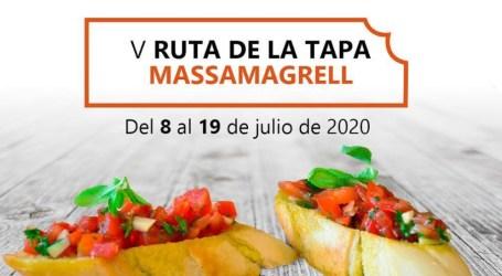 Massamagrell celebrará su V Ruta de la Tapa del 8 al 19 de julio