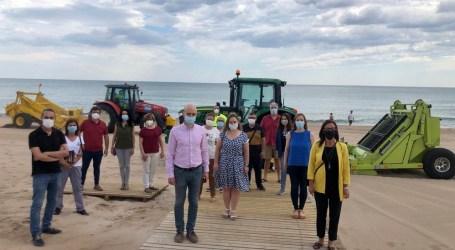 La Diputació de València recoge 458 metros cúbicos de residuos de las playas