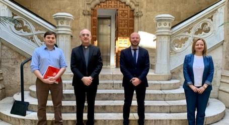 La Diputació de València ayudará a Cáritas con 250.000 euros para contribuir en proyectos con colectivos vulnerables