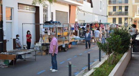 El mercado ambulante regresa a Benetússer con medidas de seguridad especiales