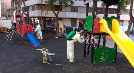 Torrent reabre los parques infantiles reforzando la limpieza y desinfección