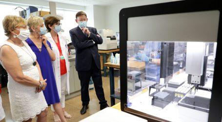 Una estación robotizada en La Fe incrementará en 2.000 las PCR diarias