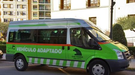 El vehículo adaptado del Ayuntamiento de Paterna alcanza los 85 servicios mensuales