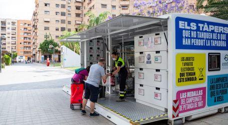 La EMTRE regala 54 bicicletas entre los usuarios de los ecoparques en 2018, 2019 y 2020