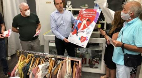 Aldaia promociona su comercio local con el sorteo de 80 tarjetas de 300 euros para gastar en las tiendas del municipio