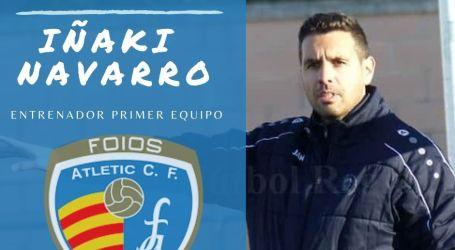 Iñaki , nuevo entrenador del Foios Atletic CF
