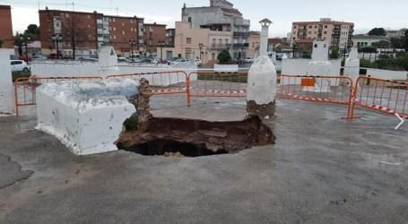 La Conselleria da luz verde a Paterna para iniciar la rehabilitación de la cueva derrumbada por las fuertes lluvias del pasado invierno