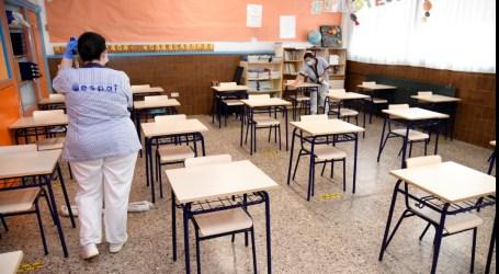 Paiporta reforça la neteja i desinfecció dels centres educatius