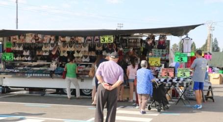 El Ayuntamiento de Quart de Poblet devuelve las tasas del mercado ambulante de 2020
