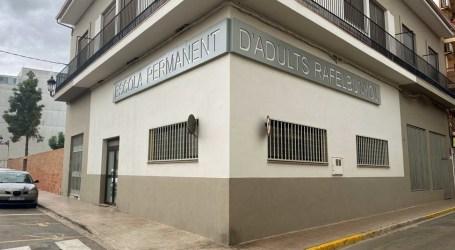 Rafelbunyol rehabilita el Centre de Formació de Persones Adultes