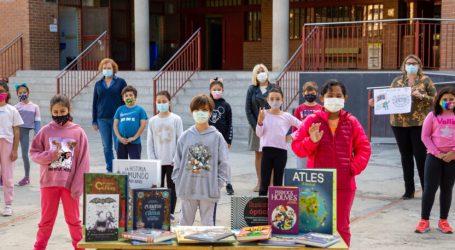 Mislata premia al alumnado del CEIP L'Almassil por su eslogan para la Biblioteca Central
