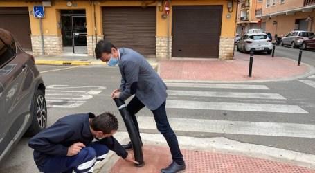 Burjassot repone bolardos en diferentes calles del municipio